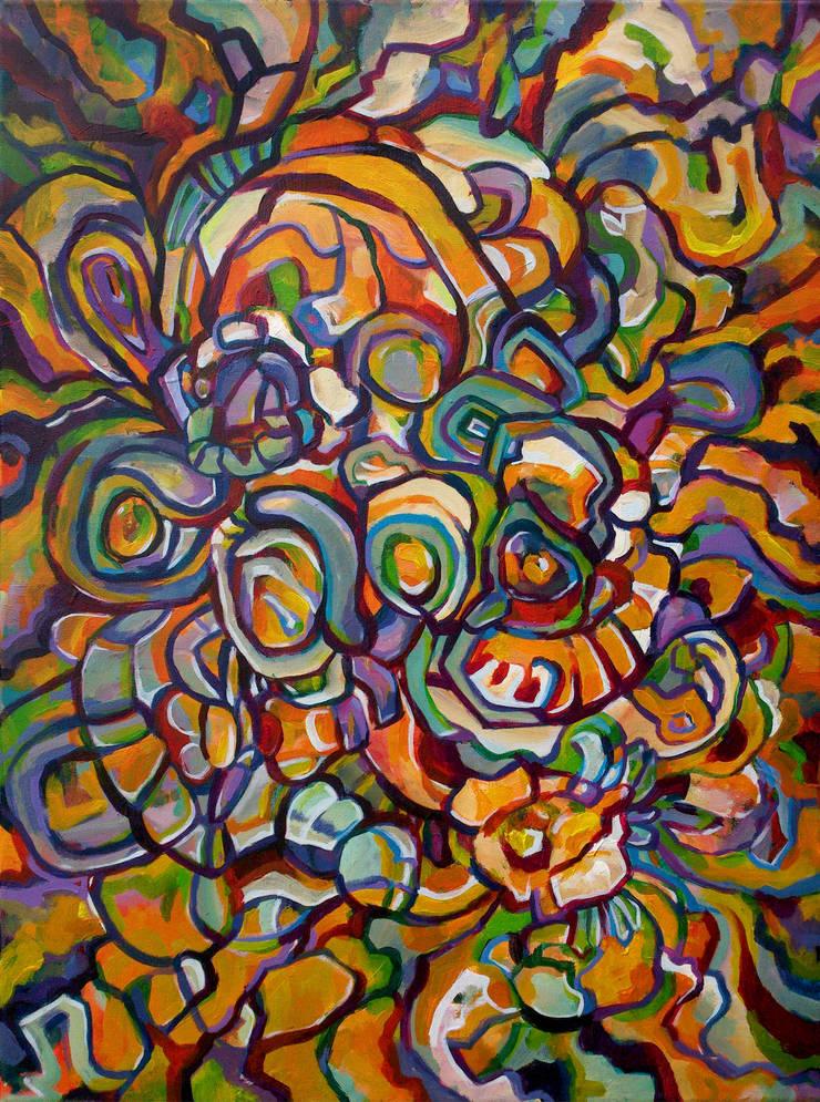 Fusion:  Artwork by Victoria Zukovska