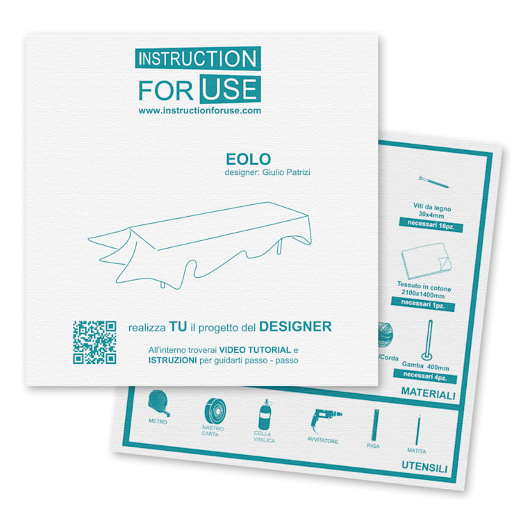 Eolo:  in stile  di IFU Instruction For Use,