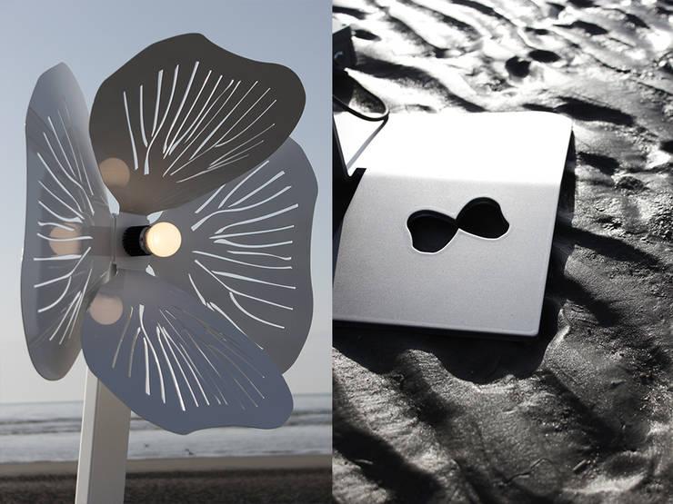 Butterfly: Balcon, Veranda & Terrasse de style  par Zoe Bezençon