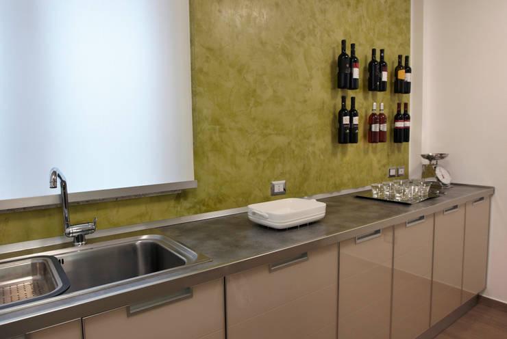 Projekty,  Kuchnia zaprojektowane przez marco olivo