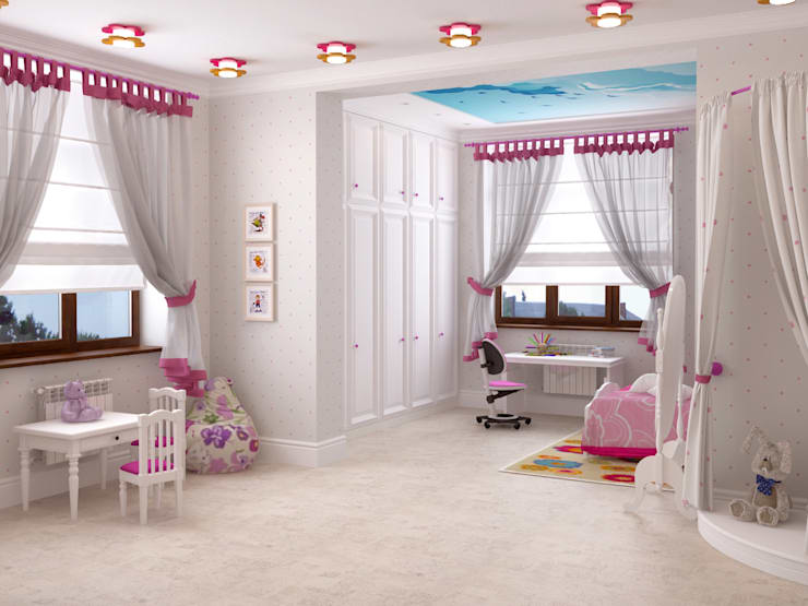 Nursery/kid's room by Студия дизайна 'New Art',