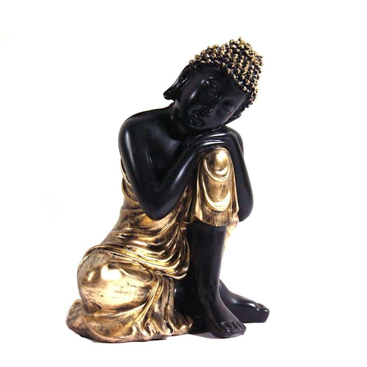 Resting Buddha Statue:  Artwork by M4design