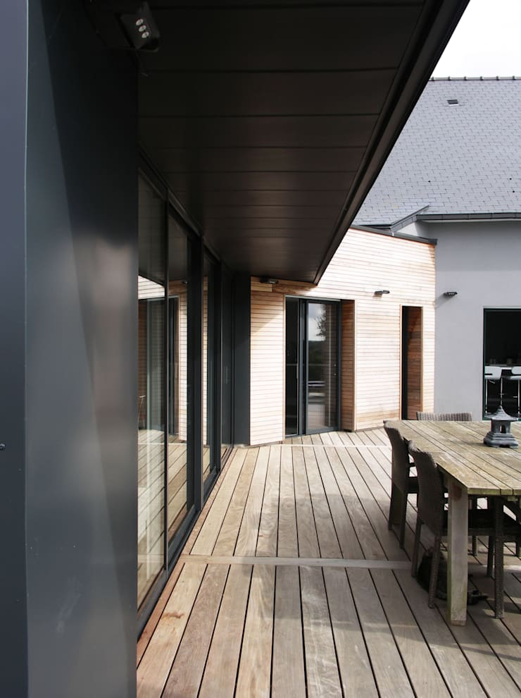 Extension B: Maisons de style  par ArchiTK