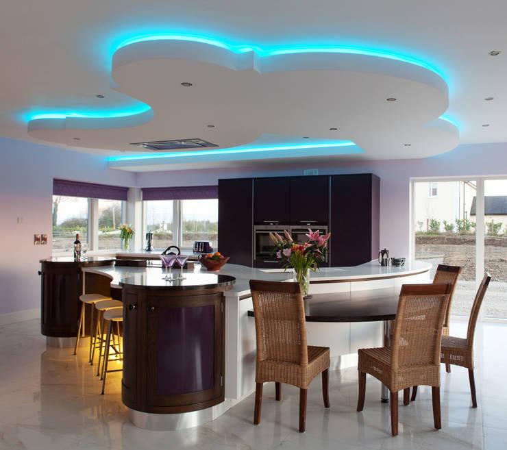 Contemporay Kitchen Ireland:  Kitchen by Designer Kitchen by Morgan