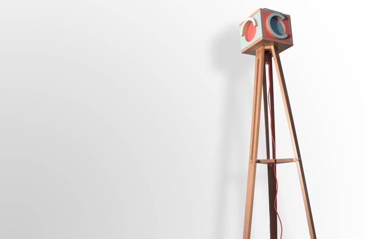 Lampada / PHOS :  in stile  di officine gualandi, Eclettico