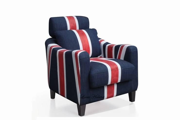 Union Jack Armchair:  Household by Locus Habitat