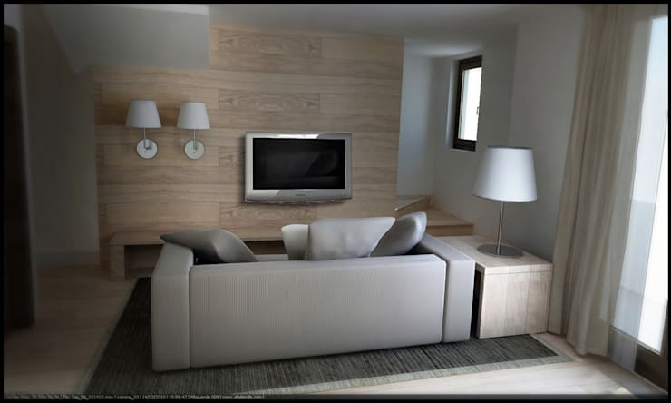 B&B in provincia di Bergamo: Hotel in stile  di Studio Architetto Alessio,