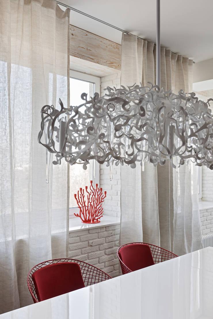 Лофт – декор: Гостиная в . Автор – Анна и Станислав Макеевы