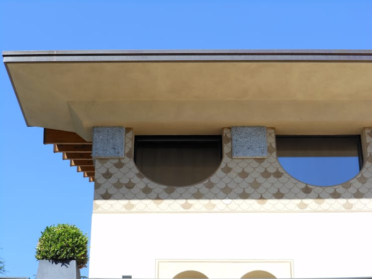 Villa privata a Cogliate: Case in stile  di ARCHITETTURA ed INTORNI,
