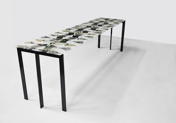 Losango Dining Table:  Dining room by Briggs & Cole