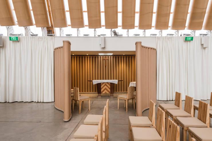 by 坂茂建築設計 (Shigeru Ban Architects)