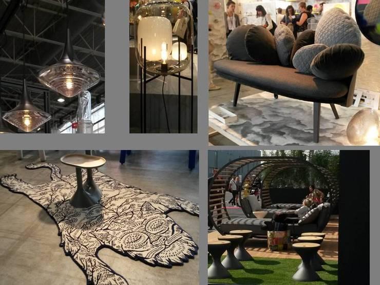 Rondeurs: Paysagisme d'intérieur de style  par Coaching VIP