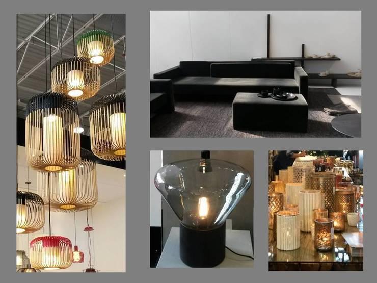 Minimal et lumineux: Paysagisme d'intérieur de style  par Coaching VIP