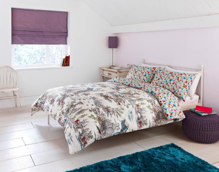 """Mazelle"" Bedding:  Bedroom by Dandylion Designs"