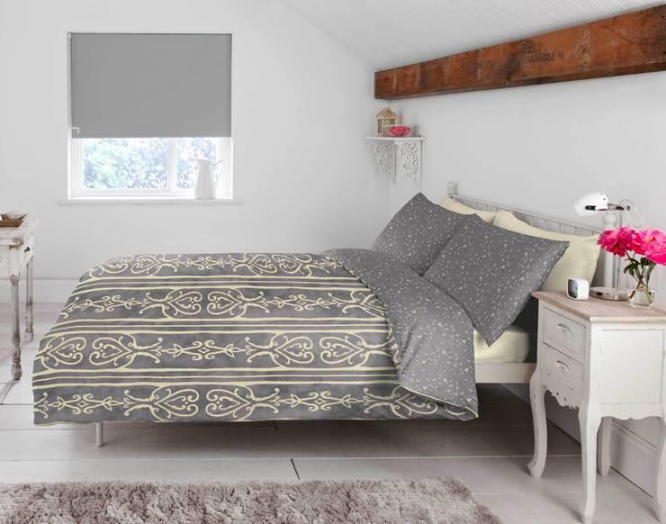 """Segura"" Bedding:  Bedroom by Dandylion Designs"