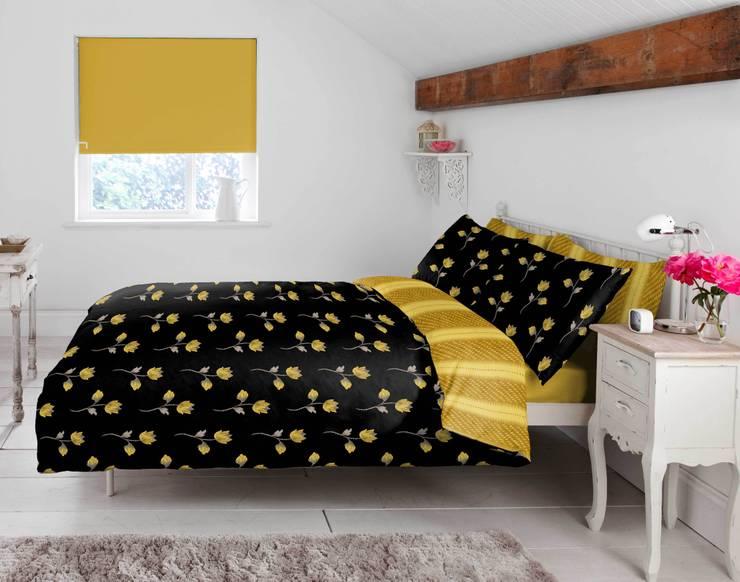"""Kamili"" Bedding:  Bedroom by Dandylion Designs"