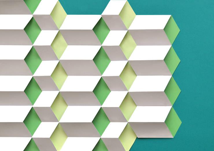 Modules cube: Murs & Sols de style  par Anne-Lise Vernejoul