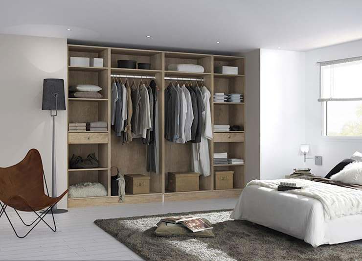 armoires et dressing:  de style  par http://www.centimetre.com