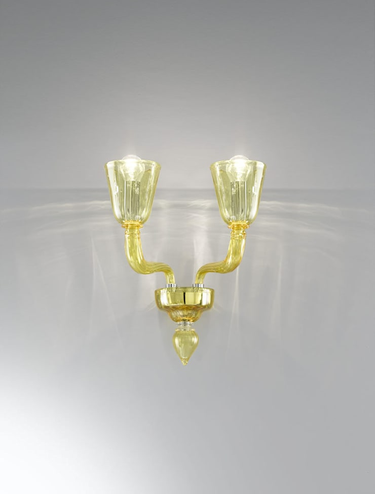 Applique in stile moderno Vetrilamp: Arte in stile  di Vetrilamp