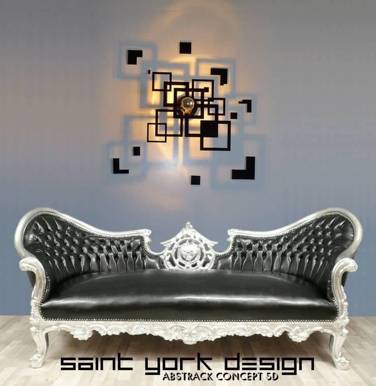 LUMINAIRES DESIGN: Maison de style  par SAINT YORK DESIGN