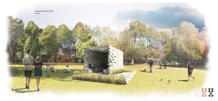 Peace Pavilion, concours Archtriumps:  de style  par Mbd