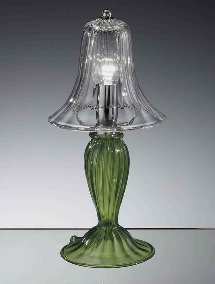 Lampada da tavolo moderna in vetro di Murano Vetrilamp: Arte in stile  di Vetrilamp,