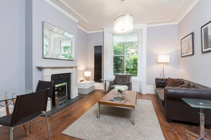 Margaretta Terrace 8:  Living room by Mays Floorplans