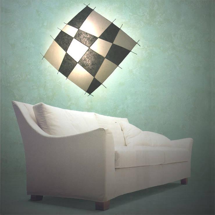 Drache schwarz/weiß:  Wohnzimmer von espo-leuchten