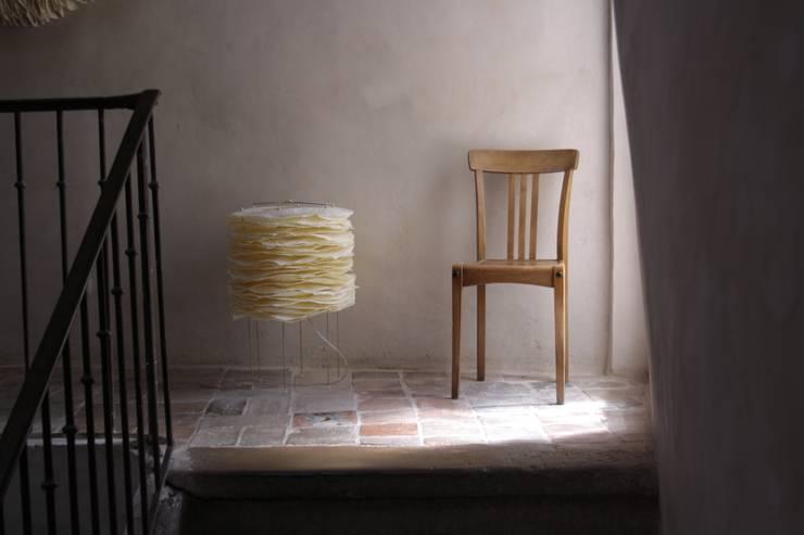 Construction de luminaires papier:  de style  par Jean-Luc Mare Luminaires