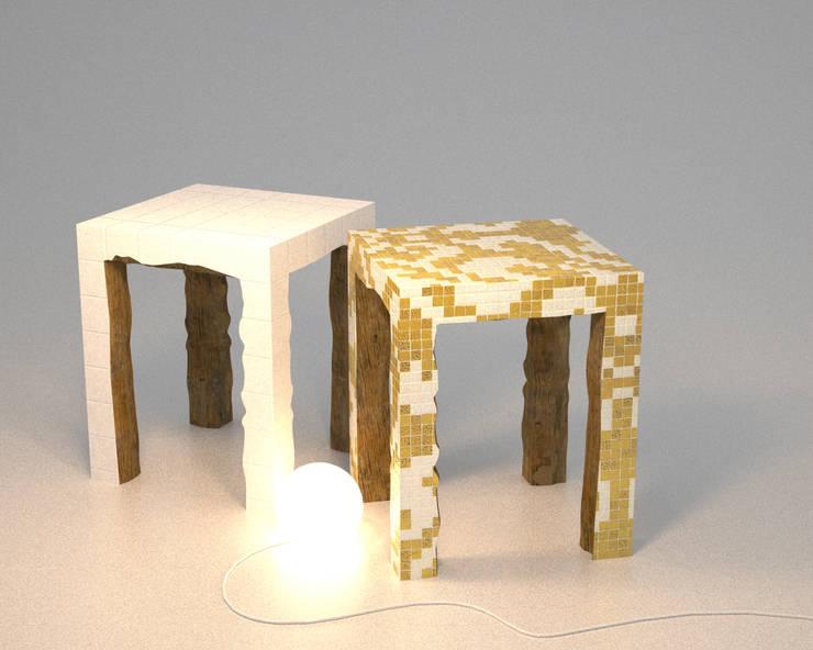 Tables semi-sauvages: Maison de style  par ColineMonnier Design