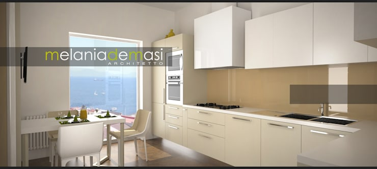 Kitchen by melania de masi architetto,