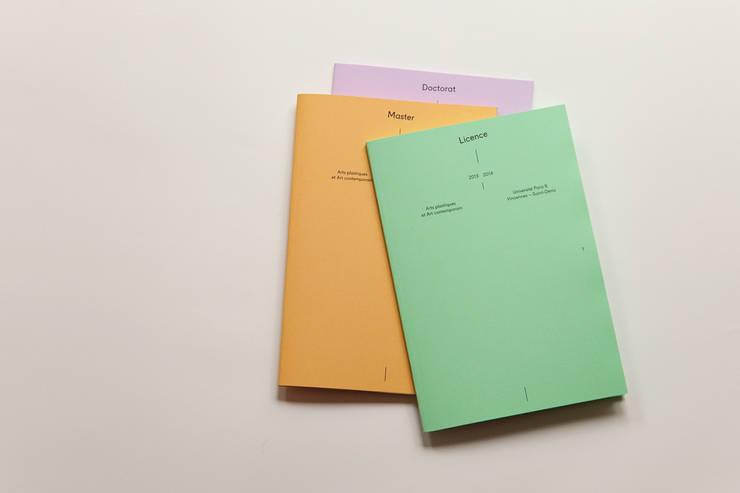 Livrets Paris 8:  de style  par E+K
