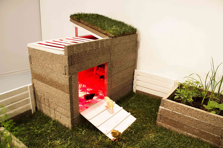 Pocket Farm | Green Biz:  in stile  di Lascia la Scia S.a.s., Rustico