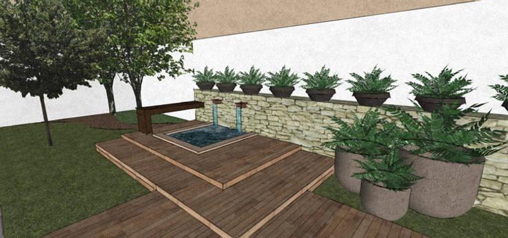 Garden by Arq. Claudia Gonzalez,