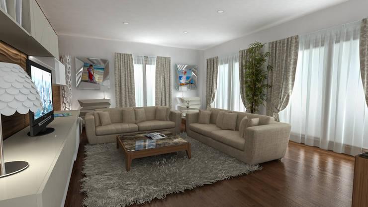 villa Dodi Sistiana: Case in stile  di studiosagitair,