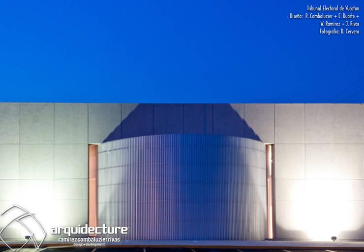 TRIBUNAL ELECTORAL DEL ESTADO DE YUCATÁN :  de estilo  por Grupo Arquidecture