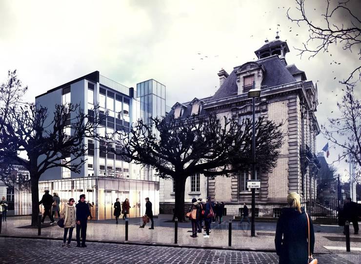 Mairie de Brunoy:  de style  par Graal Architecture