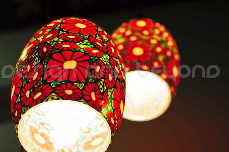 Lamp: tropical Houses by Design and beyond