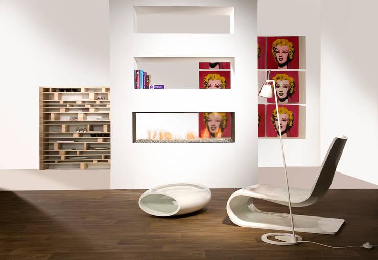 Salones de estilo  de Faber haarden