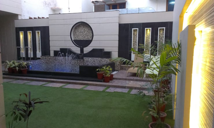 Residence M-35: modern Garden by ArchiDes