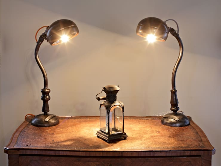 """Lampe à poser """" gamma"""": Maison de style  par Olivier Le Clerc"""