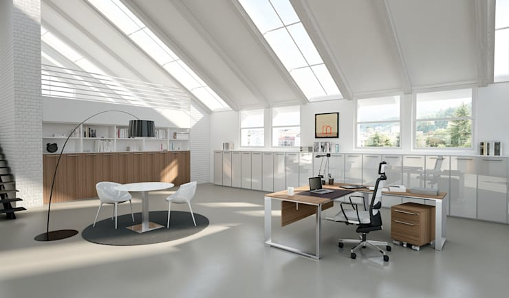 DV901-VERTIGO (EXECUTIVES): Studio in stile in stile Moderno di DVO S.P.A.