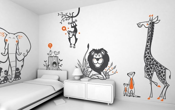 Nursery/kid's room by E-GLUE - Stickers Muraux et Papier-Peints Enfants