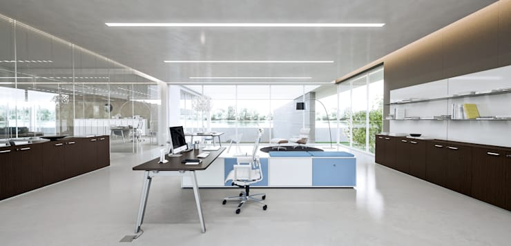 DV804-E-PLACE (WORKSTATIONS):  in stile  di DVO S.P.A., Moderno