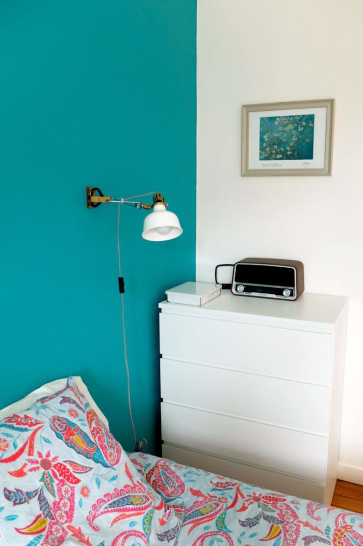 Appartement de vacances – Biarritz: Chambre de style  par Espaces à Rêver