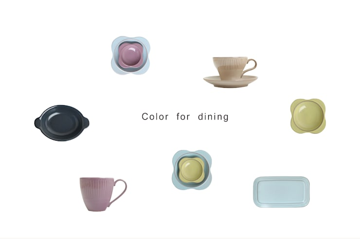 color for dinning: Kimsunghun의  주방