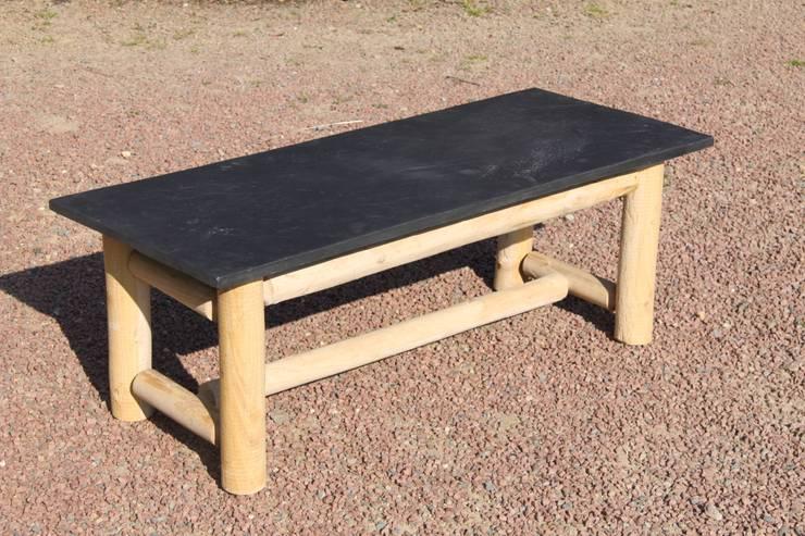 Table basse ardoise:  de style  par Ardoise Déco