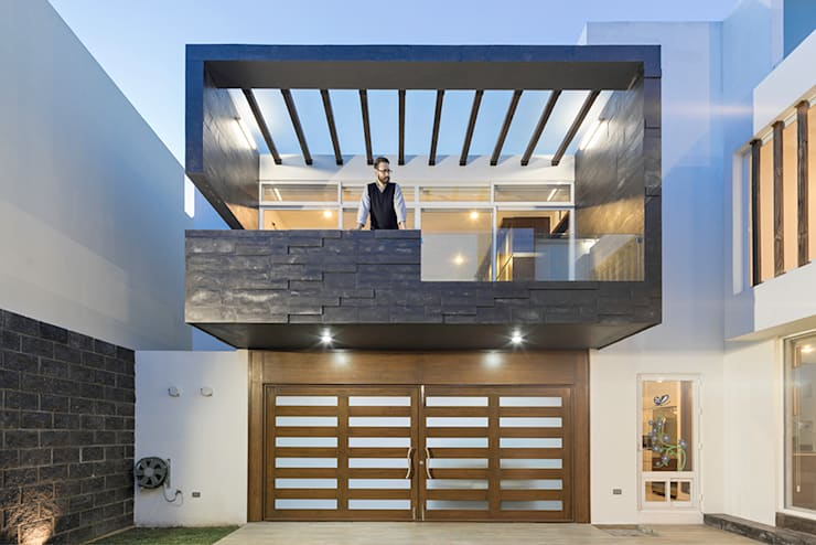 casa CeRo: Casas de estilo  por NonWarp