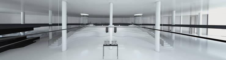 HALL : Hotel in stile  di FRANCESCO GENNARO Interior Design, Minimalista