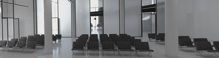 MEETING/ PARTY AREA: Hotel in stile  di FRANCESCO GENNARO Interior Design, Minimalista